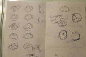 References of eyes