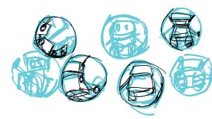 Tiny Robot: Hamster Ball pose 1/2
