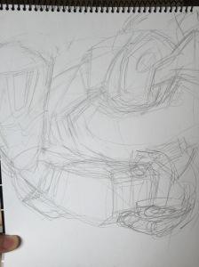 First Pencil Sketch, Shockwave only