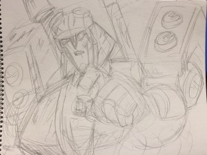 Revised Pencil Draft