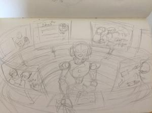 Final Pencil Draft (drawn 2 days ago)