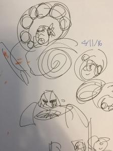 Concept doodles