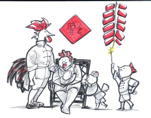 chicken-family