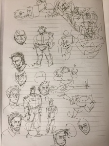 Sketches on Human Version