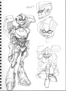Old! Arcee, inspired by an AU